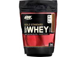 Сывороточный протеин изолят (100% Whey Gold Standard) со вкусом двойного шоколада 454 г