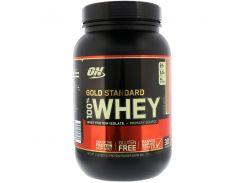 Сывороточный протеин изолят (100% Whey Gold Standard) со вкусом карамельного соуса 909 г