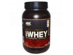 Сывороточный протеин изолят (100% Whey Gold Standard) со вкусом молочного шоколада 909 г