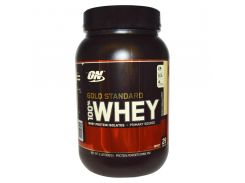 Сывороточный протеин изолят (100% Whey Gold Standard) со вкусом французской ванили 909 г