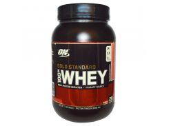 Сывороточный протеин изолят (100% Whey Gold Standard) со вкусом клубники 909 г