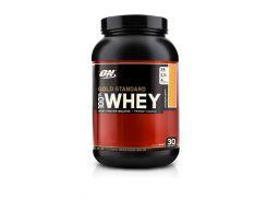 Сывороточный протеин изолят (100% Whey Gold Standard) со вкусом клубника-банан 909 г