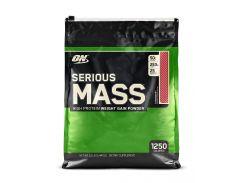 Гейнер (Serious Mass) со вкусом клубники 5.44 кг