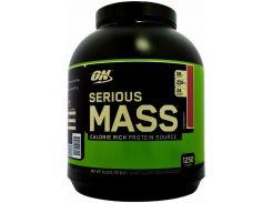 Гейнер (Serious Mass) со вкусом клубники 2.72 кг
