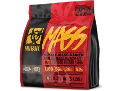 Гейнер Mutant Mass со вкусом тройного шоколада 2270 г