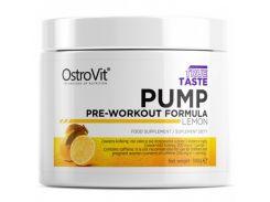 Предтренировочный комплекс Pump Pre-Workout 300 г со вкусом лимон