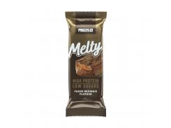 Протеиновый батончик (Melty) со вкусом шоколадного брауни 60 г