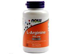Л-Аргинин (L-arginine) 500 мг 100 капсул