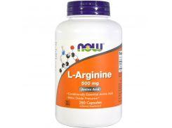Л-Аргинин (L-arginine) 500 мг 250 капсул