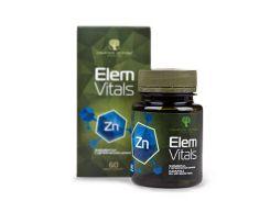 Элемвитал с органическим цинком (Elem Vitals) 60 капсул