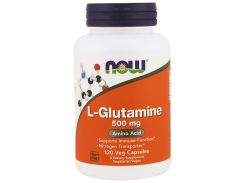 Л-Глютамин (L-Glutamine) 500 мг 120 капсул