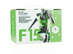 Программа F15 средний уровень 1 и 2 (Nutritional Weight Management Program) ваниль