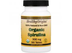 Спирулина органическая (Organic Spirulina), 500 мг 180 таблеток