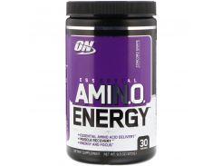"""Энергетическая добавка с незаменимыми аминокислотами (ON Essential Amino Energy) со вкусом винограда сорта """"Конкорд"""" 270 г"""