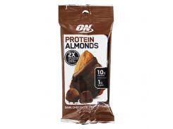 Протеиновый миндаль (Protein Almonds) со вкусом трюфеля из темного шоколада 43 г