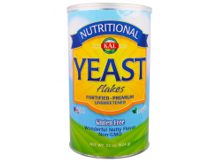 Дрожжи хлопьями несладкие (Yeast Flakes) 624 г