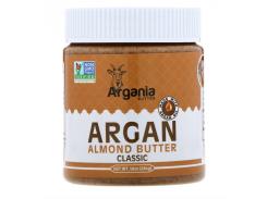 Argania Butter, Миндальная паста с аргановым маслом, классическая, 284 г