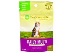 Ежедневный мультивитамин, для кошек, 30 жевательных таблеток, 37.5 г