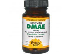 Диметиламиноэтанол коферментированный (DMAE) 350 мг 50 капсул