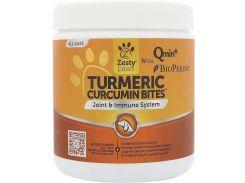 Куркумин для собак (Turmeric Curcumin Bites For Dogs) 600 мг 90 жевательных конфет со вкусом утки