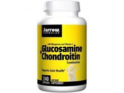Глюкозамин Хондроитин с марганцем и витамином C (Glucosamine Chondroitin with Manganese and Vitamin C) 240 капсул