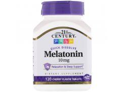 Мелатонин быстрорастворимый (Melatonin) со вкусом вишни 120 таблеток