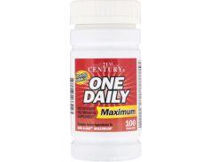 Поливитамины и мультиминералы (One Daily maximum) 100 таблеток