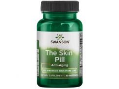 Поддержка для кожи против старения (The Skin Pill Anti-Aging) 30 капсул