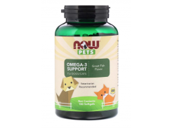 Омега-3 для собак/кошек (Omega-3 Support) 180 капсул