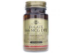 Фолат (Folate as metafolin) 666 мкг DFE 50 таблеток