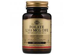 Фолат (Folate as metafolin) 1333 мкг DFE 50 таблеток