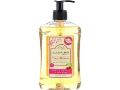 Жидкое мыло для рук и тела (Hand and Body Liquid Soap Cherry Blossom) 500 мл цветы вишни