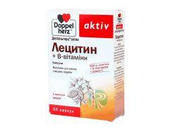 Лецитин + В-витамины 30 капсул