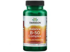 Комплекс витаминов В-50 (Balance Vitamin B-50) 100 капсул
