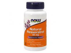 Ресвератрол Натуральный 50 мг 60 капсул