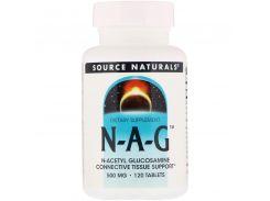 N-ацетилглюкозамин (N-A-G) 500 мг 120 таблеток