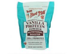 Протеиновый порошок с чиа и пробиотиками (Protein Powder Nutritional Booster with Chia Probiotics) 453 г со вкусом ванили