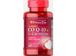 Коэнзим Co Q-10 с Л-Карнитином (Q-SORB™ Co Q-10 plus L-Carnitine) 30 мг/250 мг 60 капсул