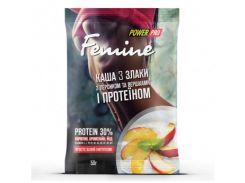 Каша Femine 3 злака и протеин 30% со вкусом персика 50 г