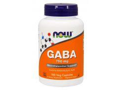 ГАМК (Гамма-аминомасляная кислота) (GABA) 750 мг 100 капсул