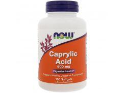Каприловая кислота (Caprylic Acid) 600 мг 100 капсул