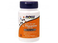 Л-Теанин двойная сила (L-Theanine) 200/100 мг 60 капсул