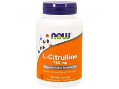 Л-Цитруллин с кальцием (L-Citrulline) 750/36 мг 90 капсул