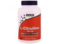 Л-Цитруллин с кальцием (L-Citrulline) 750/36 мг 180 капсул