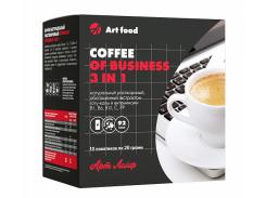 Кофе Бизнес 3 в 1 10 пакетиков со вкусом сливок