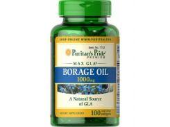 Масло огуречника Borage Oil 1000 мг 100 капсул