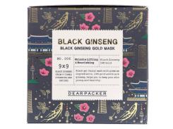 Маска для лица с черным женьшенем (Black Ginseng Gold Mask), 100 мл