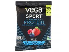 Растительный протеин (Vega Sport) 43 г с ягодным вкусом
