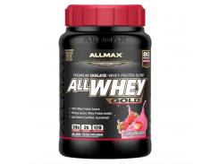 Сывороточный протеин (AllWhey Gold) 907 г со вкусом клуникиб