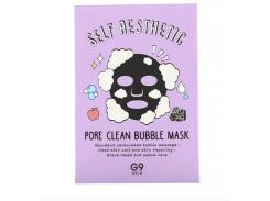 Пузырьковая маска для очищения пор (Self Aesthetic) 5 шт